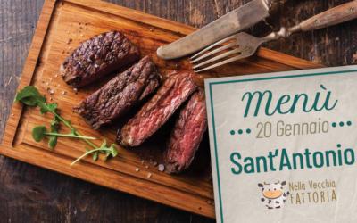 Il nostro menù di Sant'Antonio – festeggia con noi.