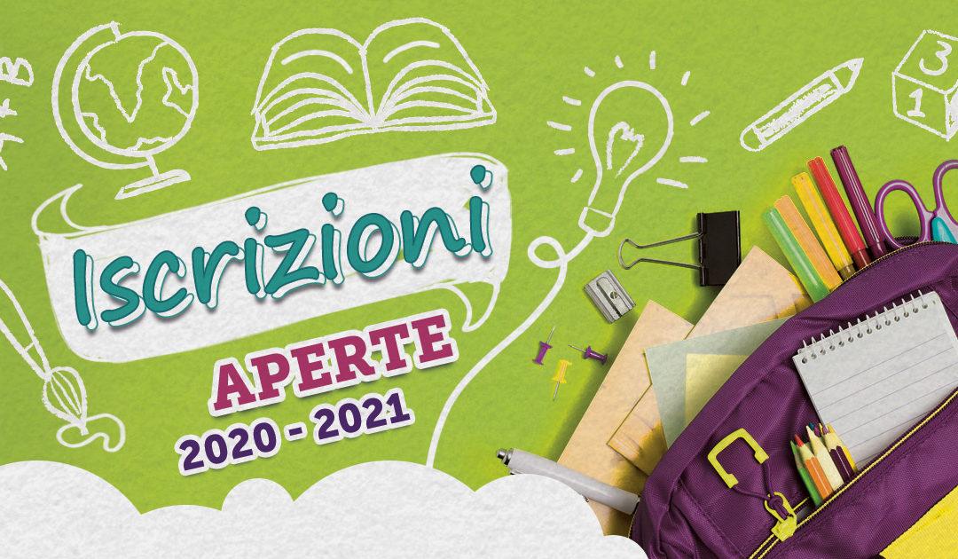 Iscrizioni 2020 – 2021